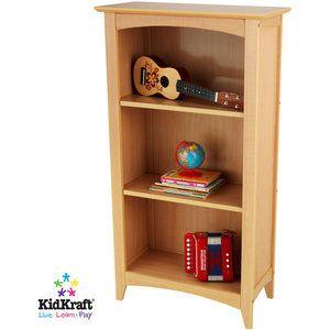 Sebastian's room?  KidKraft - Avalon Tall Bookshelf, Honey
