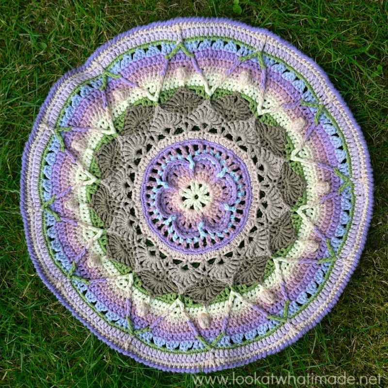 Lindevrouwsweb Mandalas Haken Mandalas Carpets Pinterest