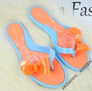 Gumowe Japonki Meliski Kokarda S7 1 Blue 5347188436 Oficjalne Archiwum Allegro Shoes