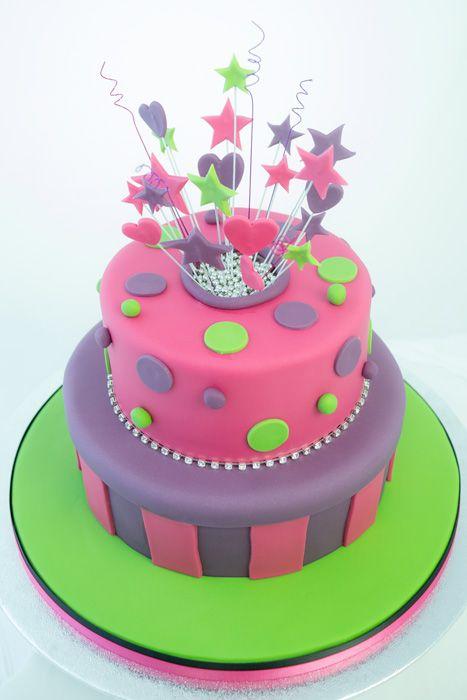 explosion cake tutorial   gateau   pinterest   gâteaux explosifs