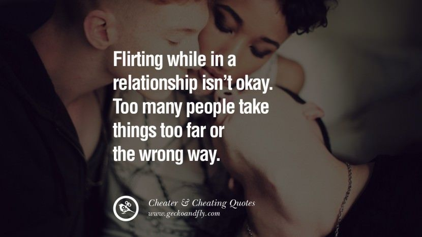 the wrong things to do in a relationship