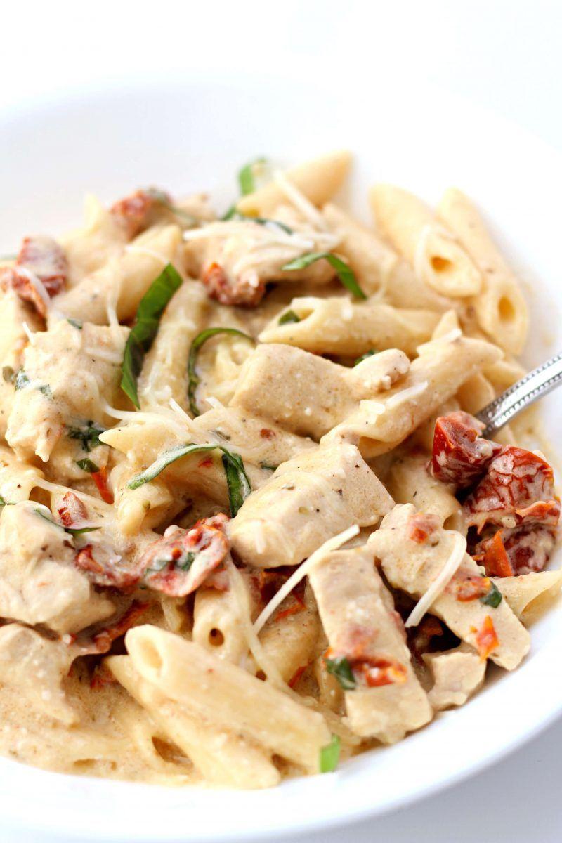 Instant Pot Olive Garden Chicken Pasta Recipe in 2020