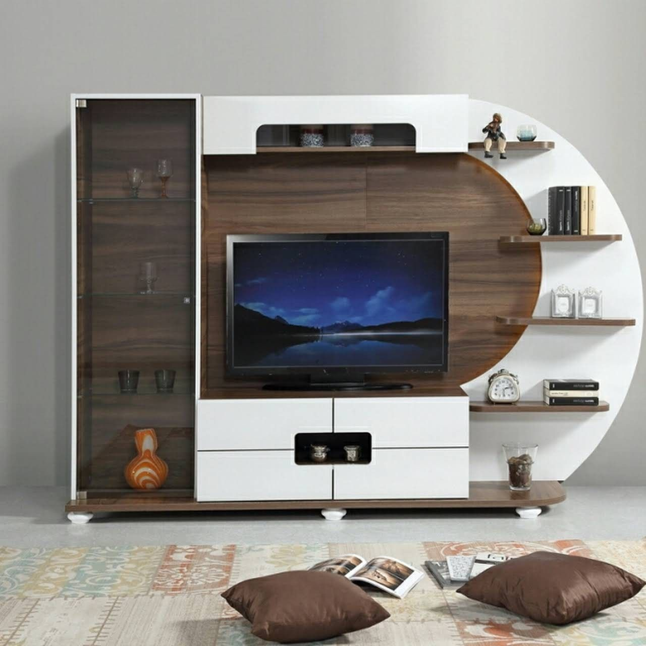 Top 50 Modern Tv Stand Design Ideas For 2020 In 2020 Living Room Tv Unit Tv Cabinet Design Modern Tv Units #tv #units #designs #for #living #room