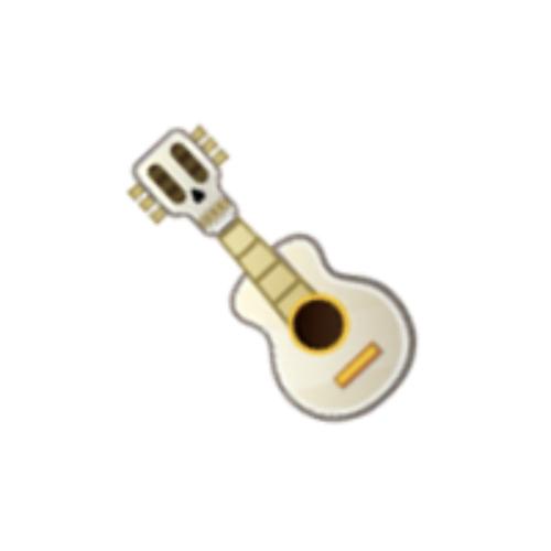 Hector S Guitar As An Emoji Drawing By Disney Coco Emoji Drawing Disney Emoji Disney Emoji Blitz