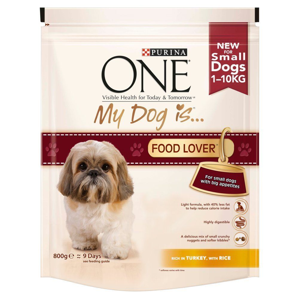 Purina One My Dog Is Food Lover Dry Dog Food Turkey And Rice 800
