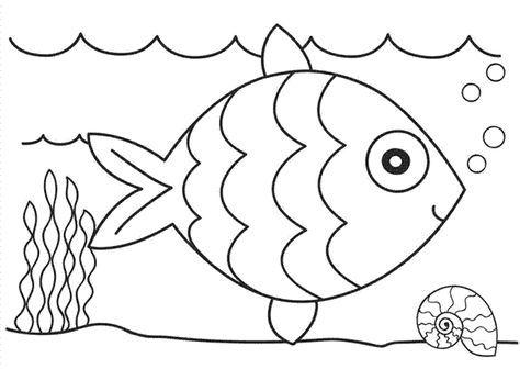 Resultado de imagen de peces para colorear | Español