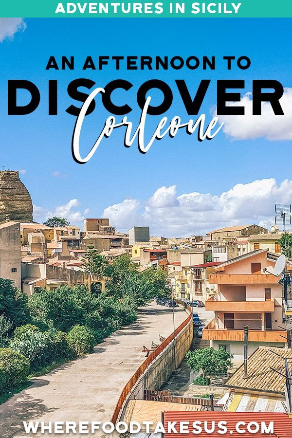 An Afternoon In Corleone: Authentic Sicily