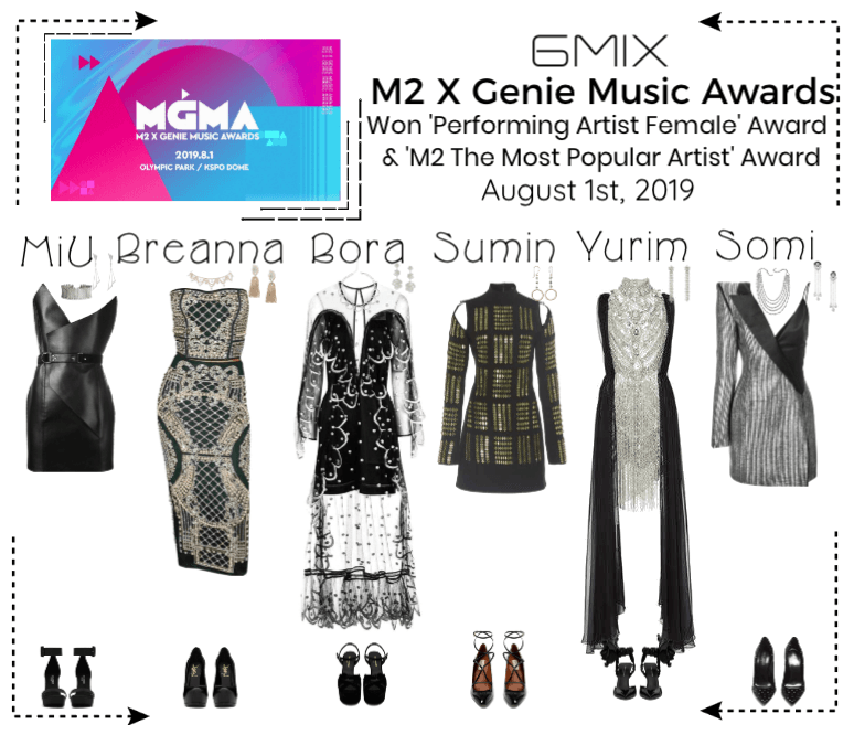 6mix》M2 X Genie Music Awards 2019 | Fashion outfits in 2019