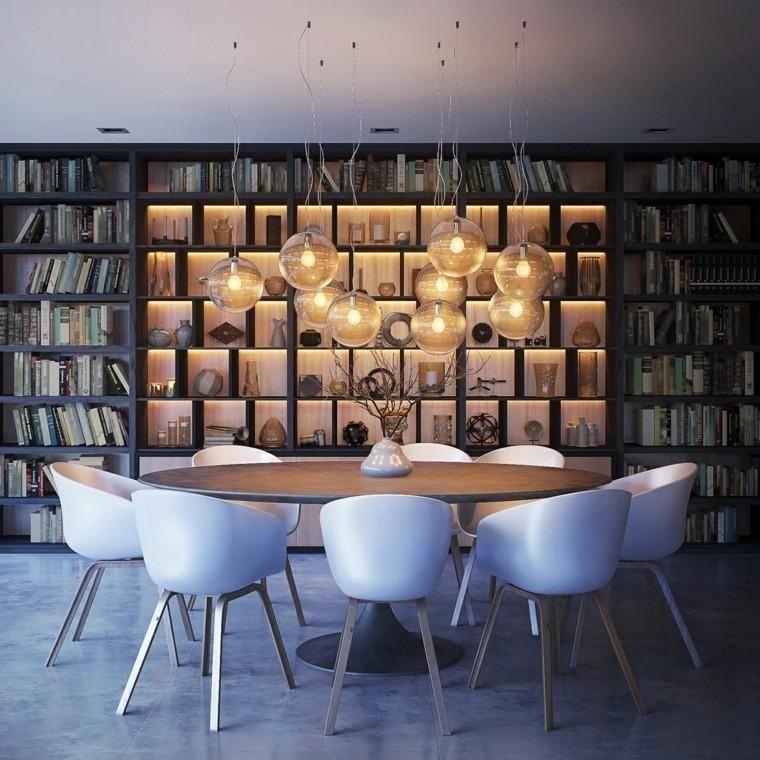 Moderne Esszimmer Ideen mit unglaublichen Akzenten Innenausbau