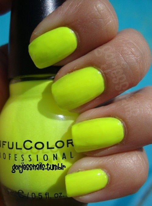 10 Best Neon Nail Polishes (And Reviews) - 2018 Update | Esmalte y ...