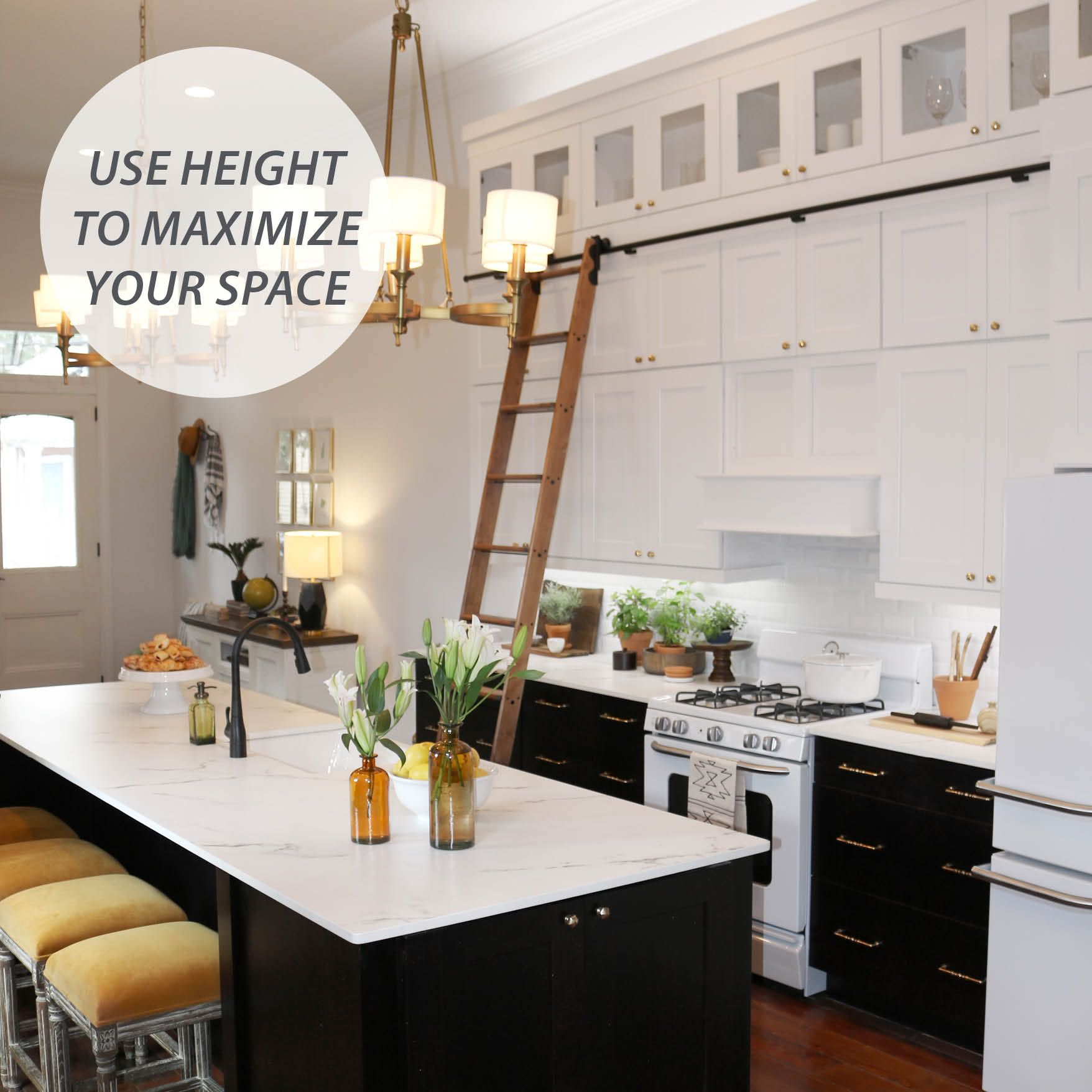 Small Spaces Require Big Ideas–use Height To Maximize Your