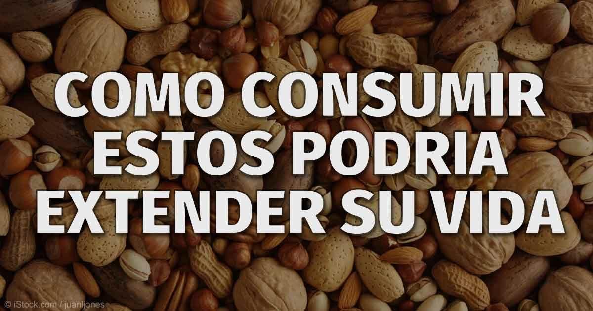 Las personas que consumieron al menos 10 gramos (1/3 oz) de frutos secos al día tuvieron en promedio 23% menos riesgo de padecer enfermedades.  http://articulos.mercola.com/sitios/articulos/archivo/2015/06/22/nueces-crudas-organicas.aspx