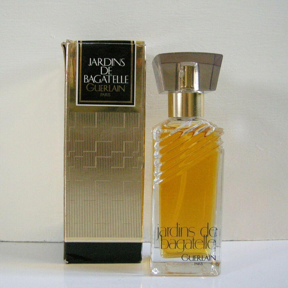 Vintage Guerlain Jardins De Bagatelle Eau De Toilette Spray 2 Oz 60ml Nib Guerlain Fragrances Perfume Eau De Toilette Perfume Bottles