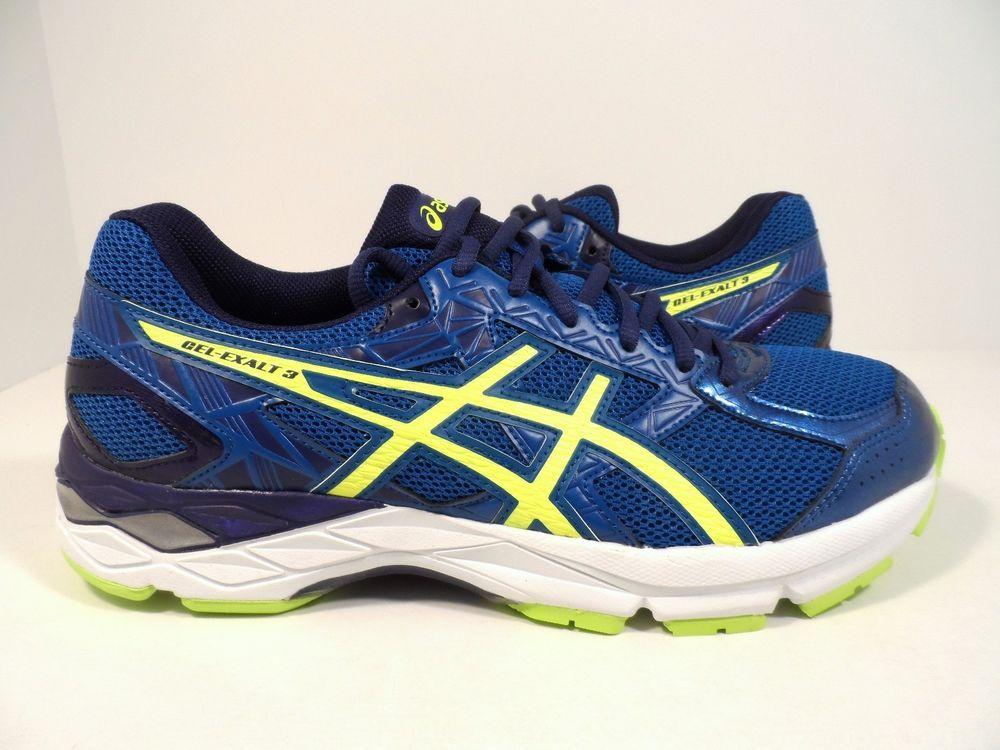 Asics mens gel exalt 3 running shoe thunder bluesafety