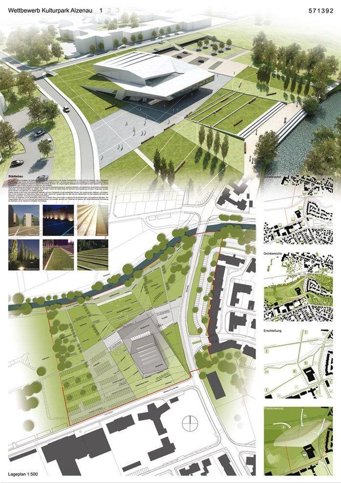 Schrammen Architekten, Rheims + Partner Landschaftsarchitekten und Ingenieure — Kulturpark Alzenau — Image 4 of 6 - Divisare by Europaconcorsi