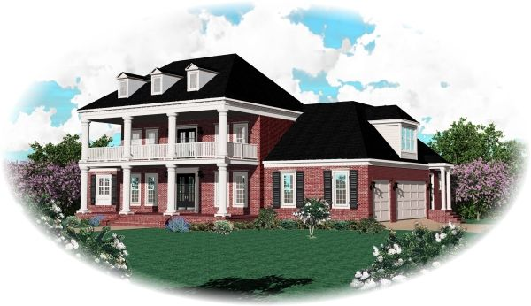 Historic House Plan chp-29615 at COOLhouseplans.com ...