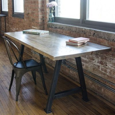 Urban Wood Goods Dining Table Top Finish Natural Size 42 H X