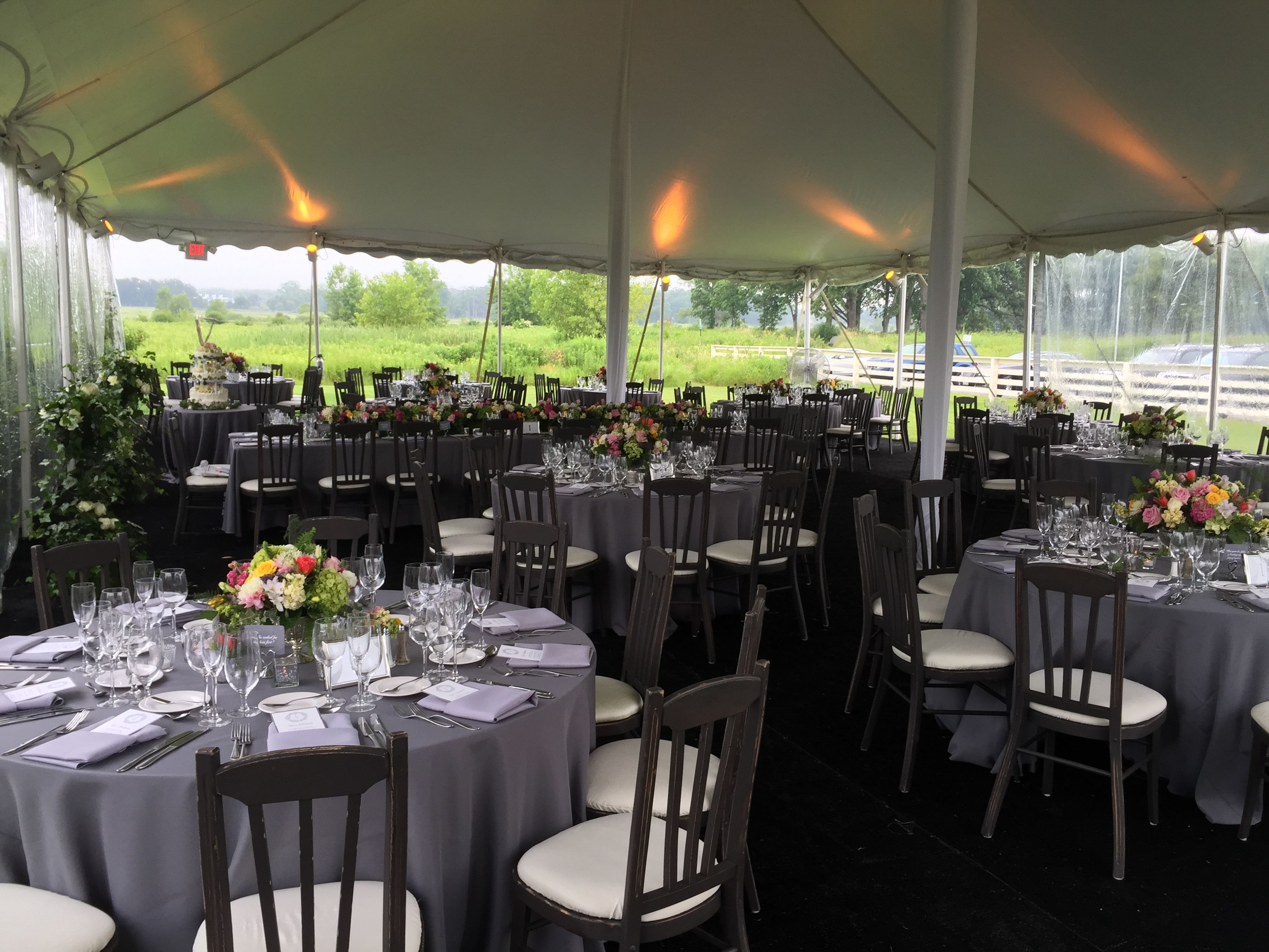 elawa farm wedding under a tent with froggy s catering froggy s