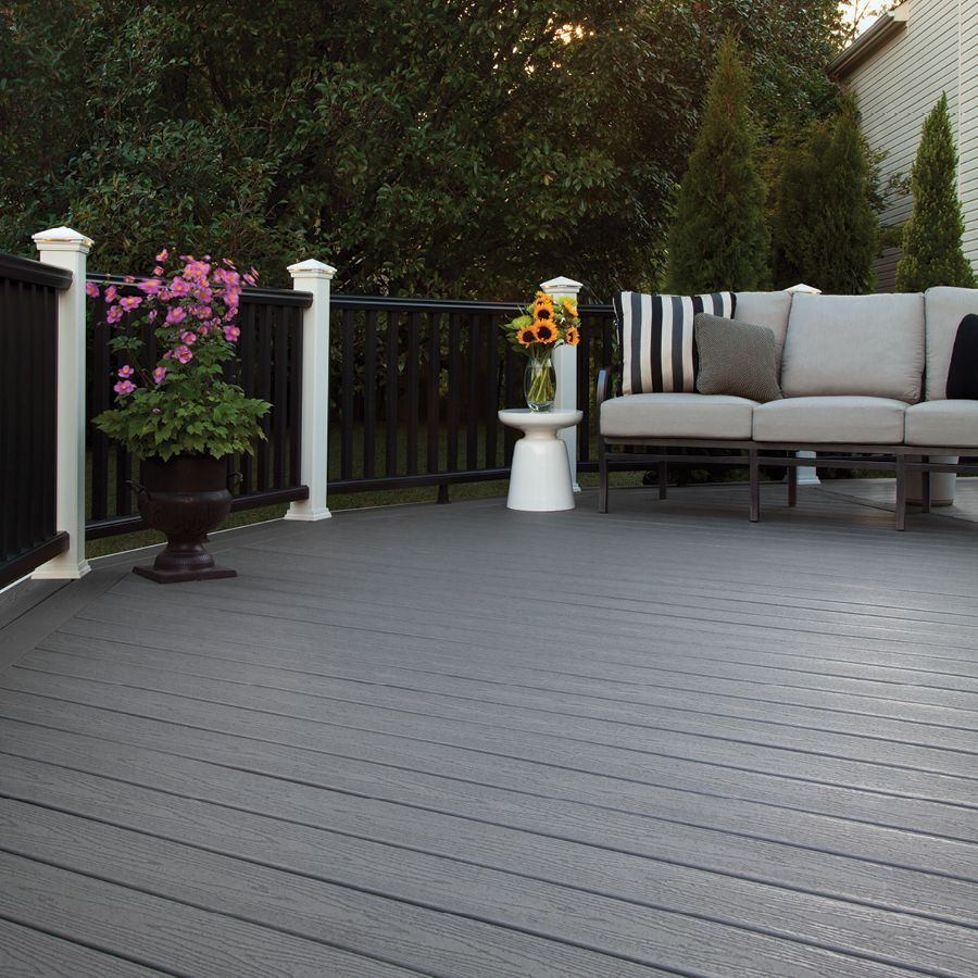 Trex Enhance Clam Shell Groove Composite Deck Board ...