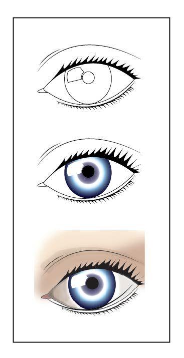 Ilustración digital - Ojo