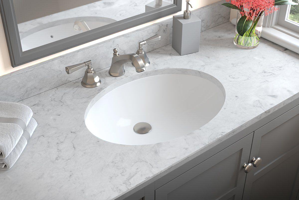 Compass Ceramic Oval Undermount Bathroom Sink With Overflow Ideal Bathrooms Undermount Bathroom Sink Sink