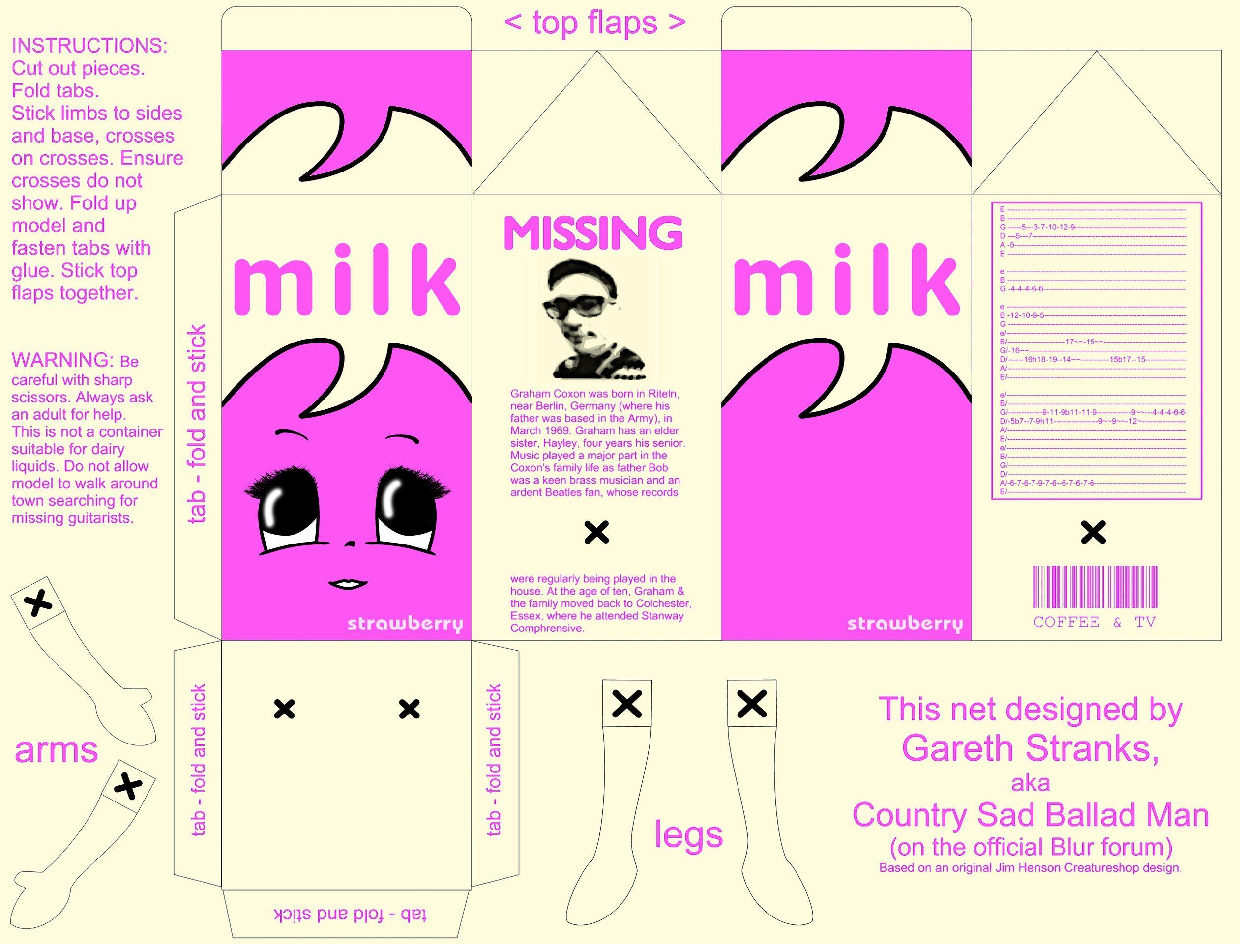 Packaging cartone latte