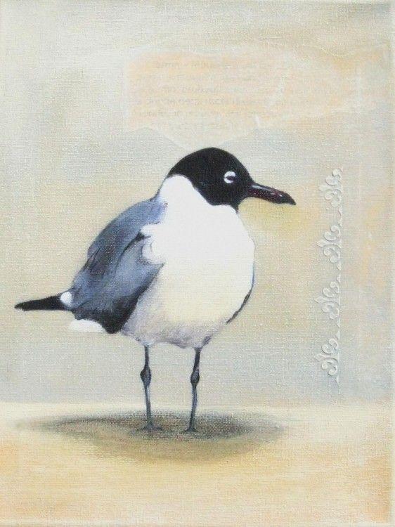 Mouette Plus Peinture Oiseau Art D Oiseau Et Peinture Aquarelle
