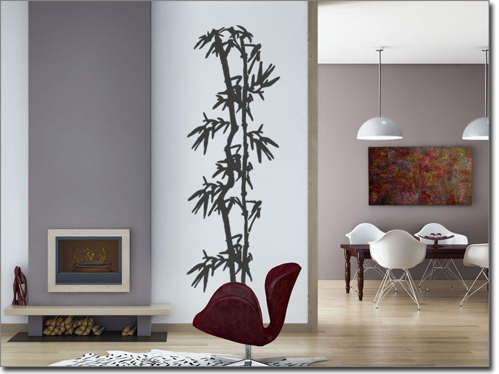 Wandtattoo Stilvoller Bambus Wandtattoos Asiatisch Pinterest