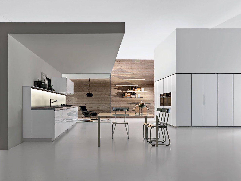 cucine dada | Cucina componibile con maniglie integrate , design by ...