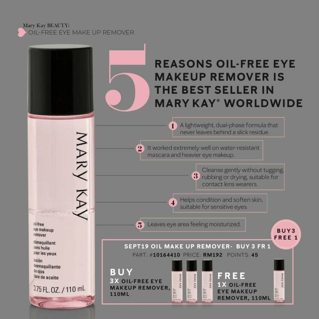 Mary Kay Eye Makeup Remover Gently Removes Eye Makeup Including Waterproof Mascara Without Tugging Or In 2020 Makeup Remover Eye Makeup Remover Mary Kay Eye Makeup