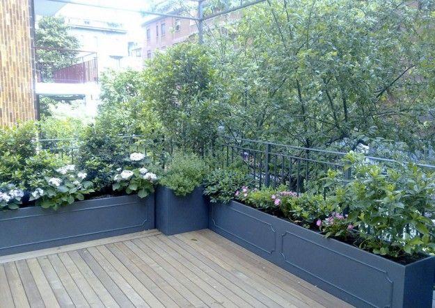 Terrazzo ombreggiato Idee d'arredo per terrazze all