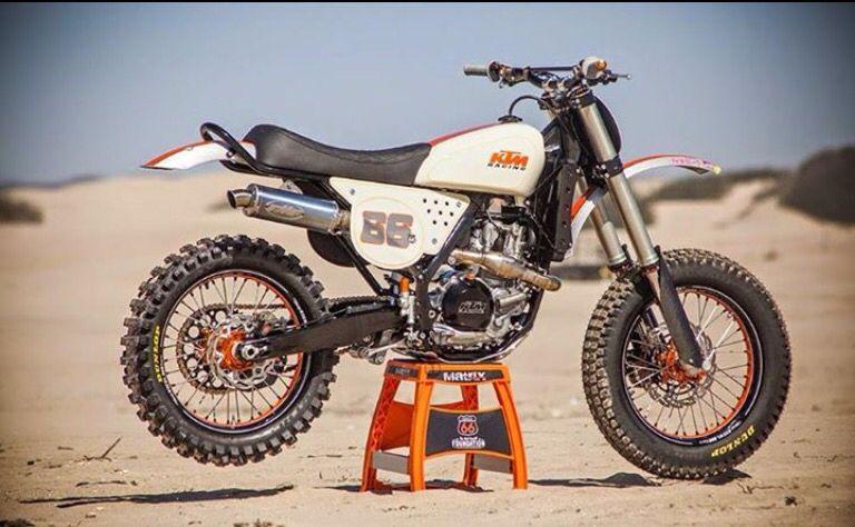 Ktm Classic Ktm Desert Sled Cafe Racer Bikes