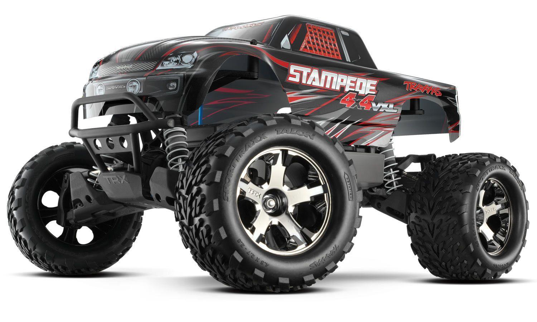 Traxxas Stampede 4x4 Vxl 1 10 Monster Truck Rtr Monster