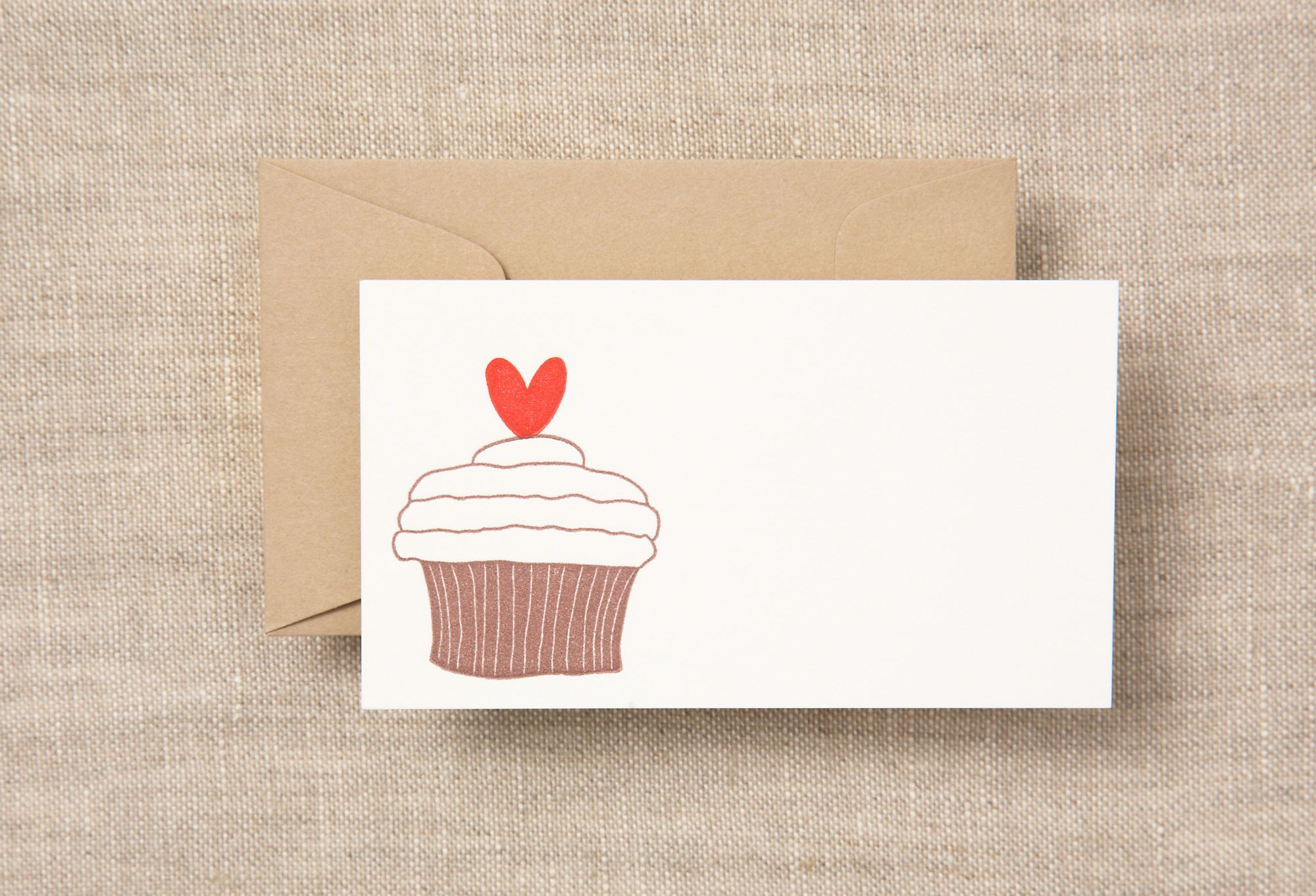 S/12 Petite Cards, Cupcake & Heart on One Kings Lane today