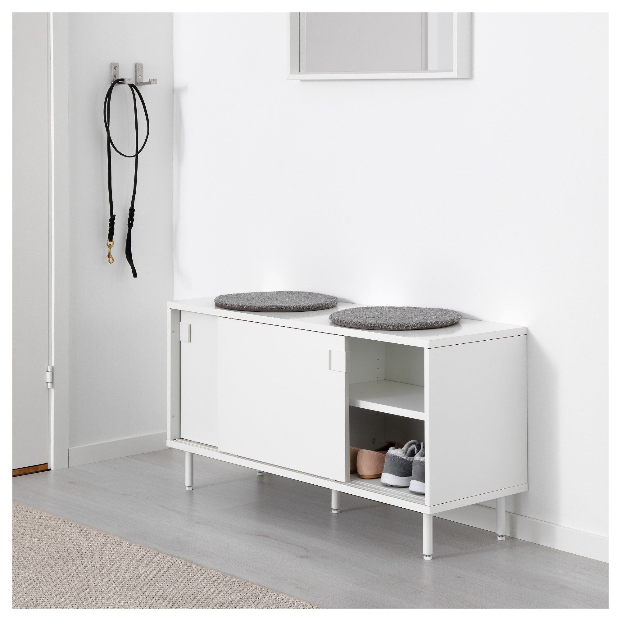 Mackapar Storage Unit White 39 3 8x20 1 8 Ikea Storage Solutions Bench With Storage Ikea Storage
