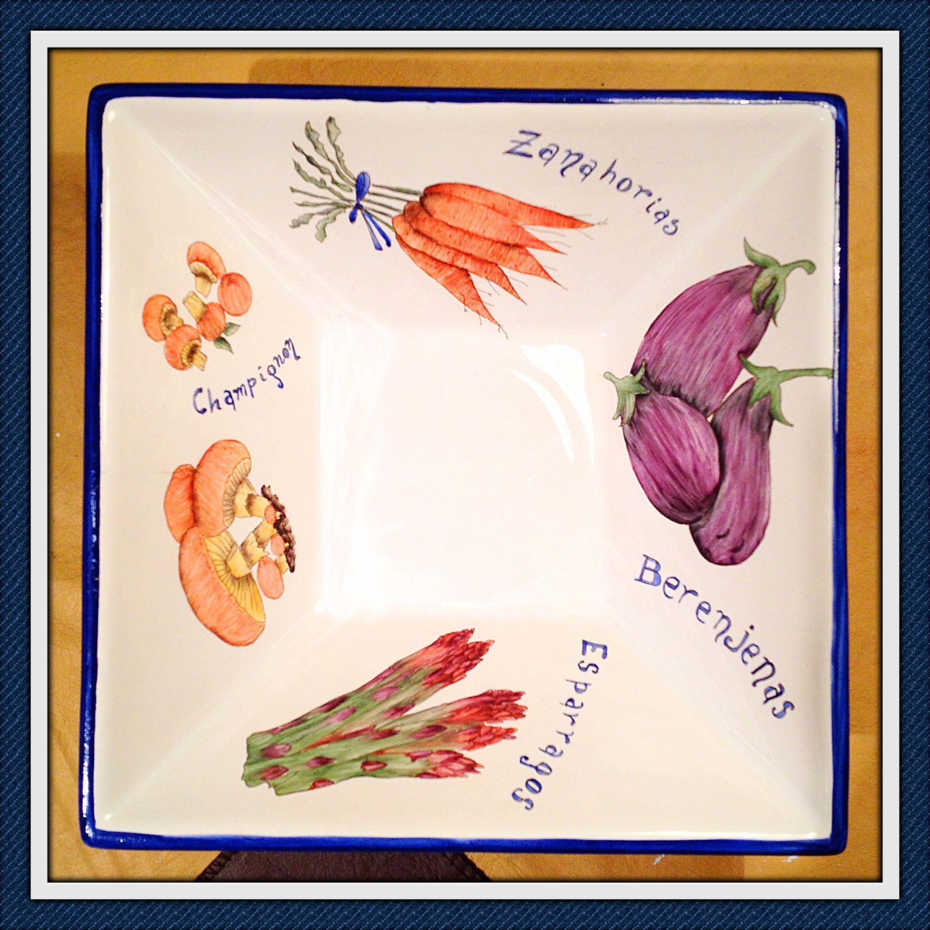 salad vegetables colours porcelana porcelana. Black Bedroom Furniture Sets. Home Design Ideas