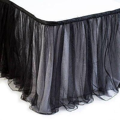 Tulle 20942: Black Tulle Table Skirt -> BUY IT NOW ONLY: $107.13 on eBay!