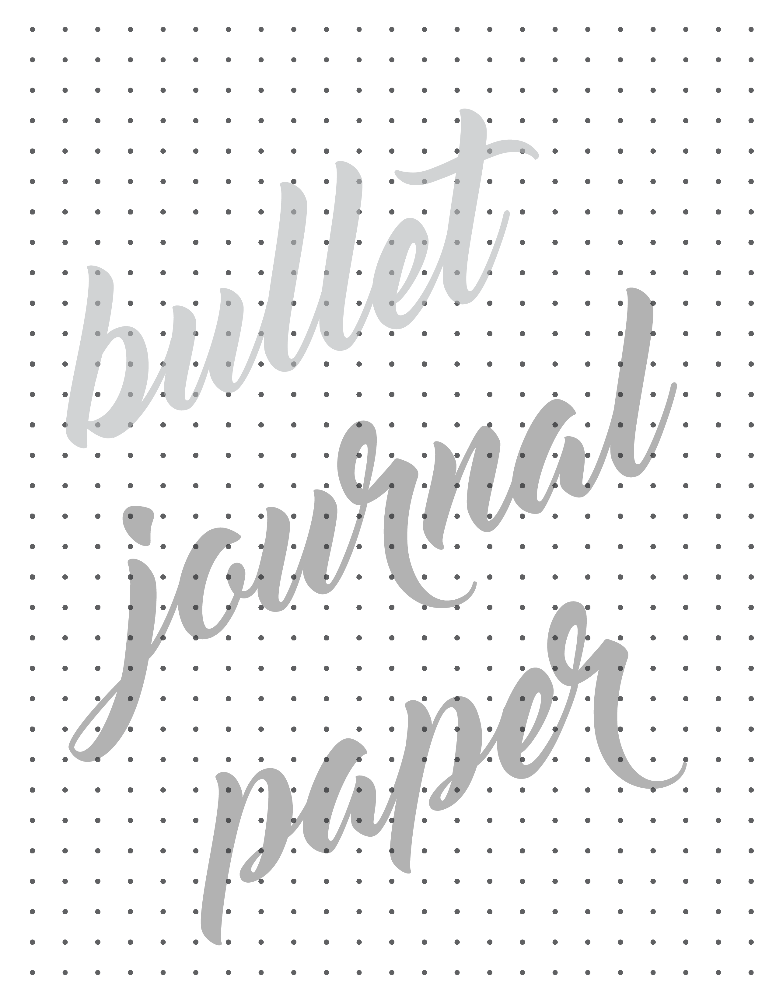 Dotted Grid Paper