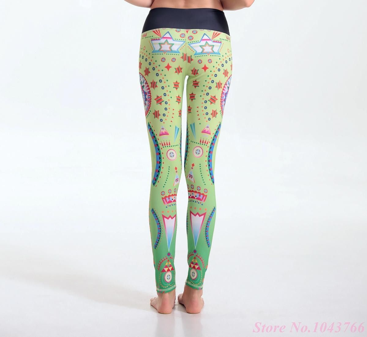 Sexy Push Up Women Sportwear Leggings Fitness Yoga Pants Tight Stretchy Sports