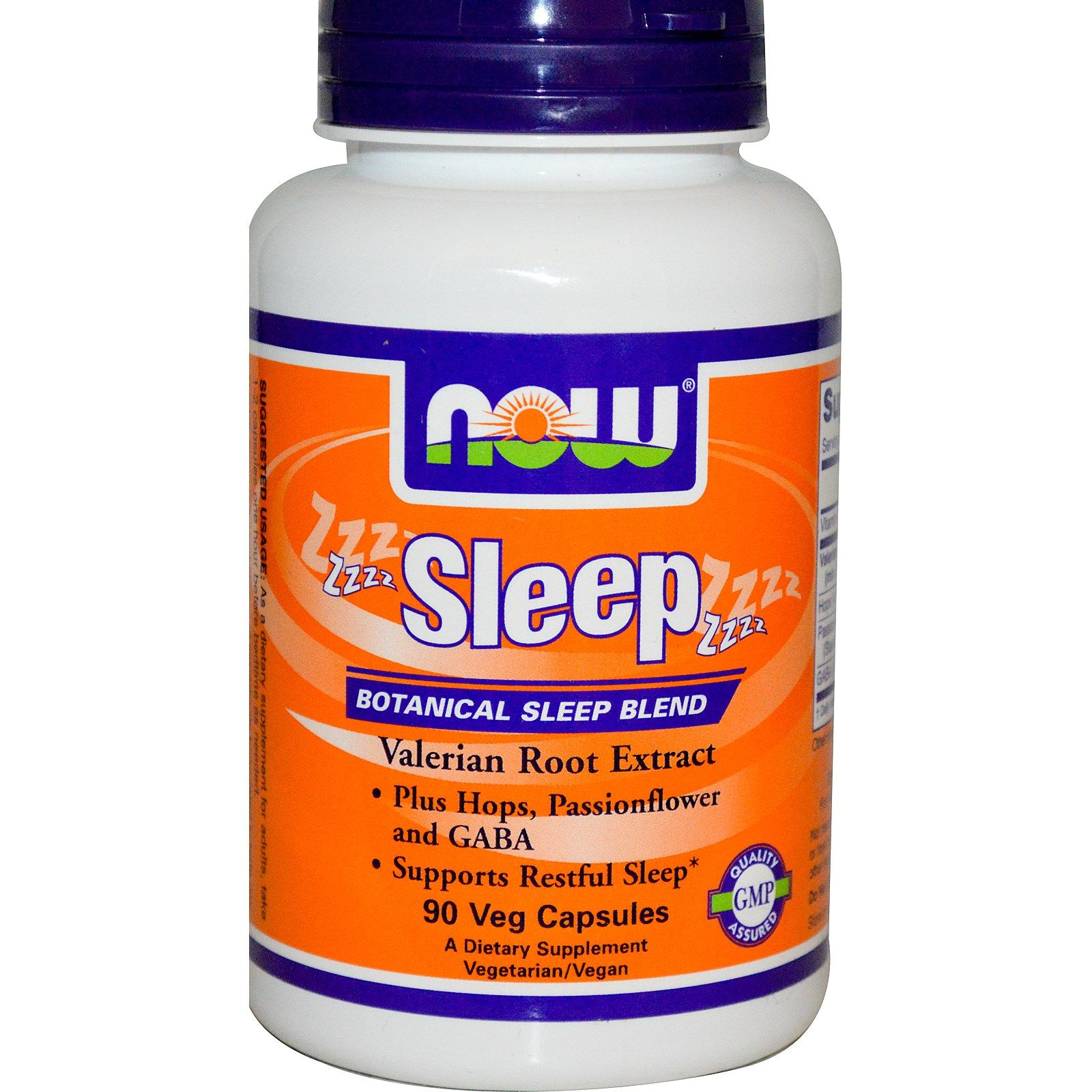 Now Foods Sleep Botanical Sleep Blend 90 Veg Capsules Now Foods Veggie Caps Botanical