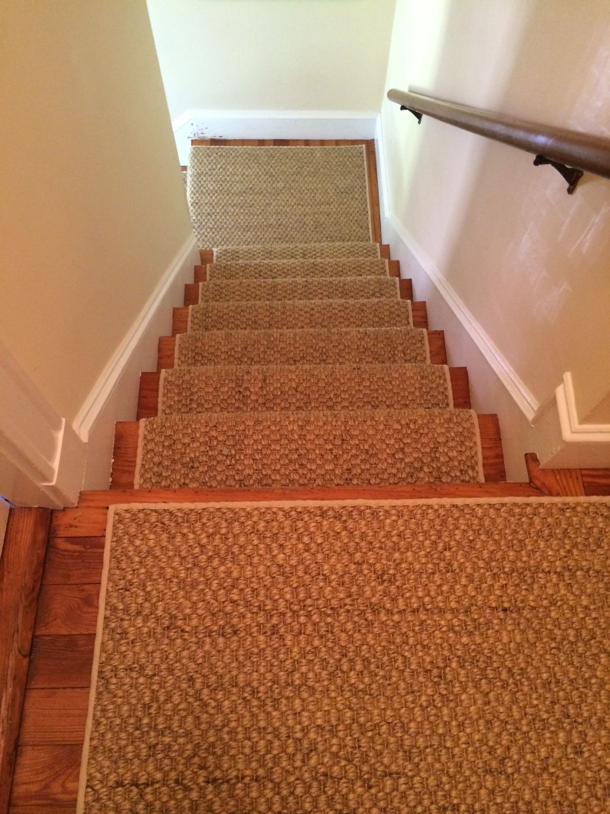 Best A Sisal Stair Runner We Recently Fabricated Installed 400 x 300
