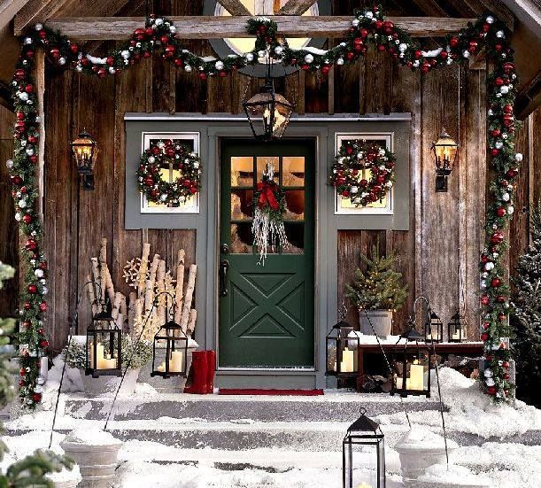 ~this porch welcomes all visitors as they arrive for the evening festivities~