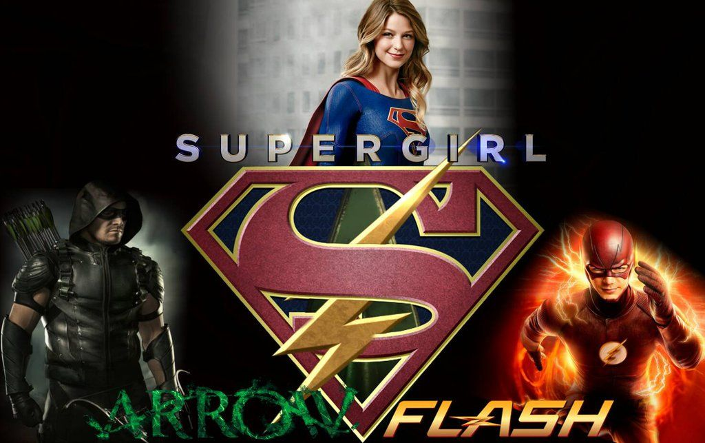 Supergirl Flash Green Arrow Wallpaper By Arkhamnatic On Deviantart