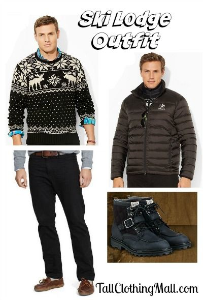 7c1600637e big and tall ski lodge outfit -  mensfashion  mens  mensstyle ...