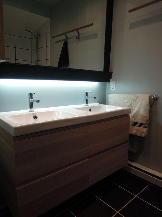 création d'octobre design. Verdun. Montréal bathroom salle de bain