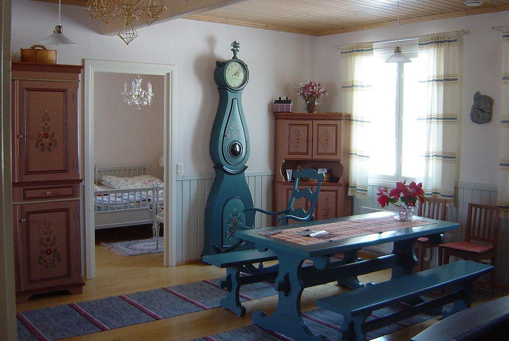 Traditional Finnish Tupa Swedish Style Interior Swedish Interiors Home