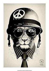 Hidden-Moves-Office-Warfare-fantasy-surreal-art-print-poster-peace-symbol-cat