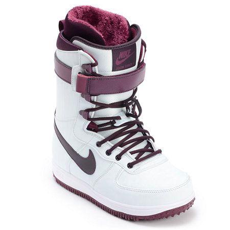 Nike Zoom Force 1 Wind Wine Women S 2013 Snowboard Boots Snowboard Boots Girls Snow Boots Boots