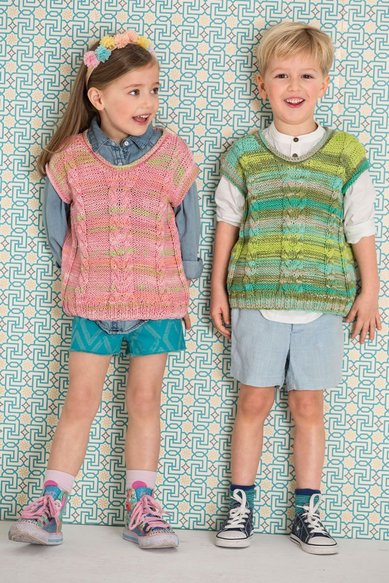Lana Grossa PULLUNDER Tape - FILATI Kids No. 5 - Modell 1   FILATI.cc WebShop