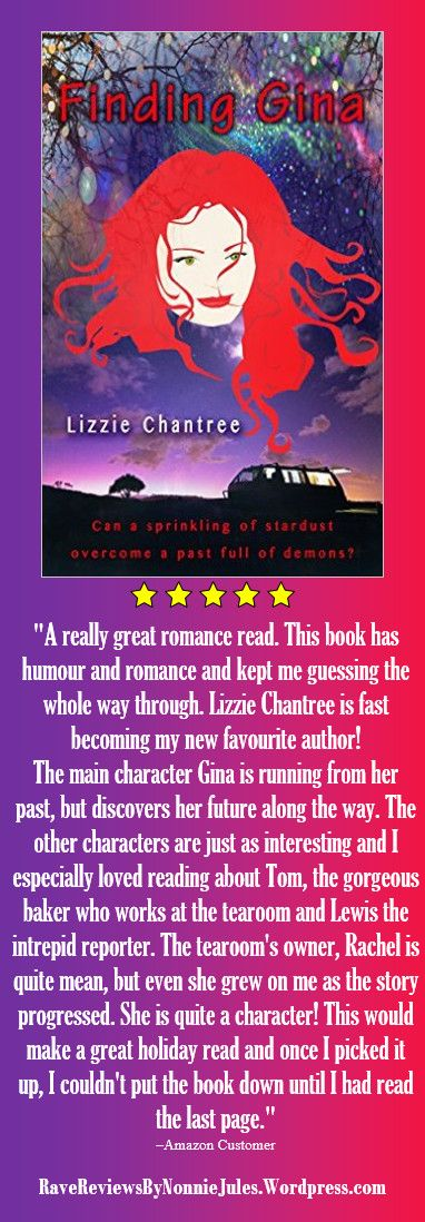 """Finding Gina by Lizzie Chantree @Lizzie_Chantree #RRBC """"A really great romance read."""" http://amzn.to/1Nxcds5"""